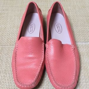 Talbots shoes , upper leather , pink , new ,8B